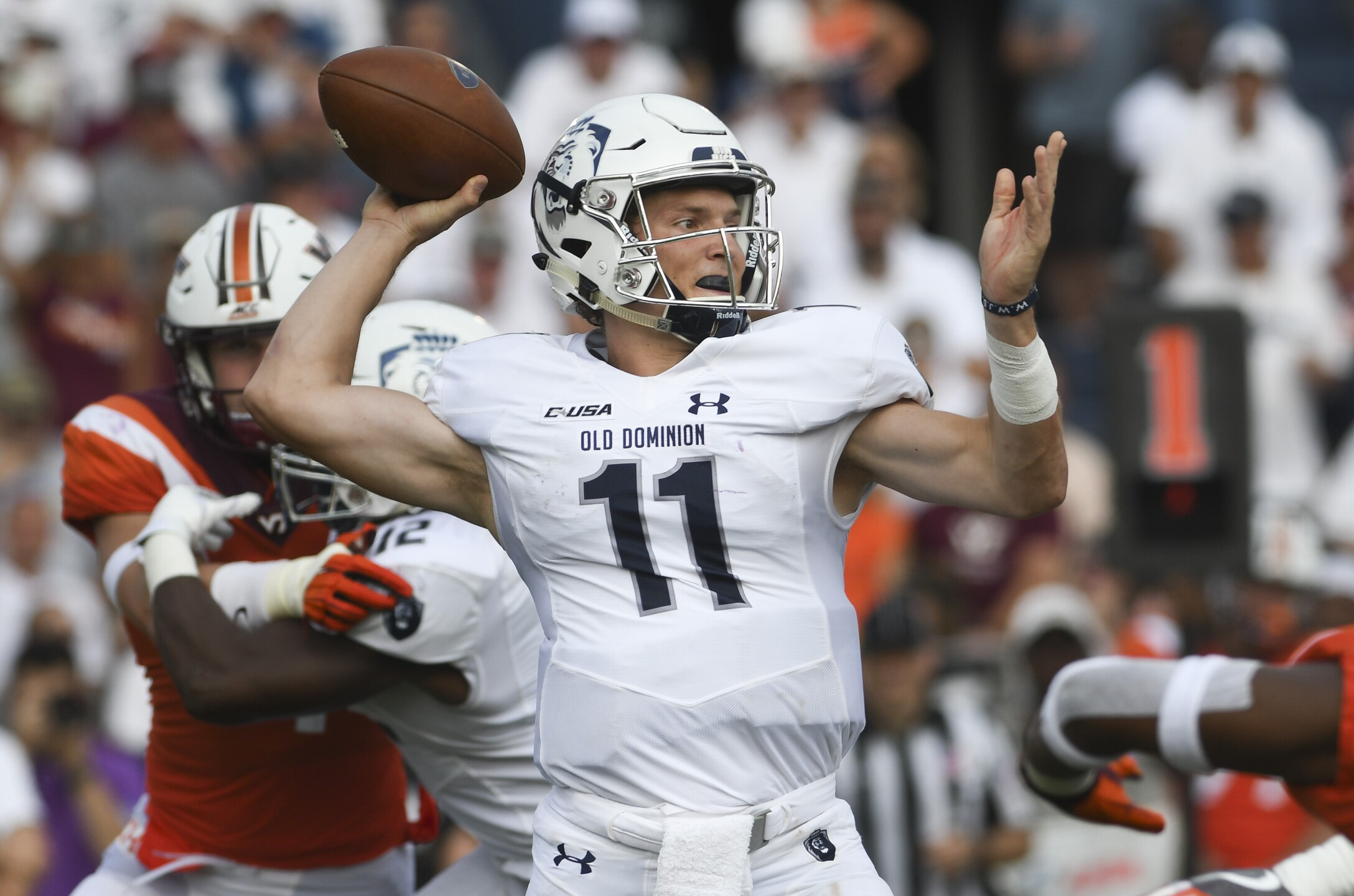 Photos: ODU beats Virginia Tech 49-35 in incredible upset: 'We just made history'