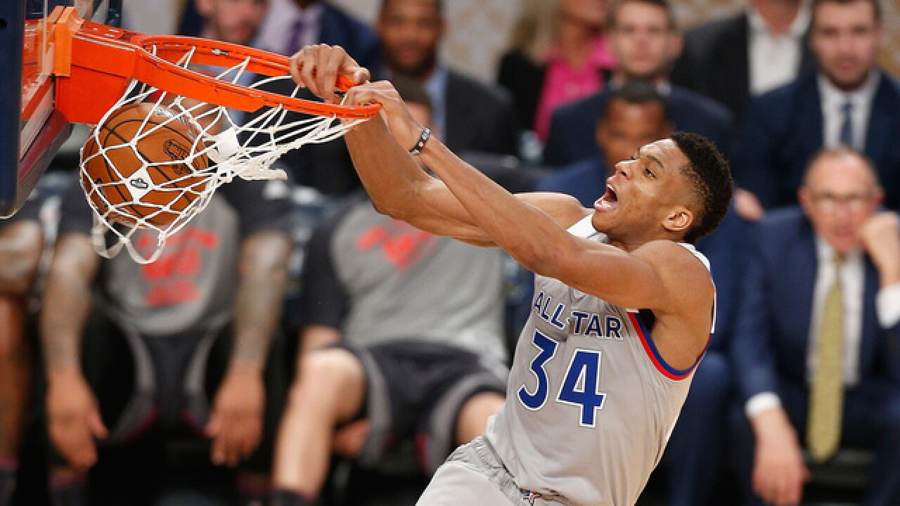 Bucks' Giannis selected by Steph Curry in NBA All-Star draft