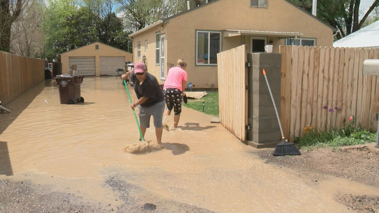 Pueblo County residents, school district officials, calling for action after repeated flooding