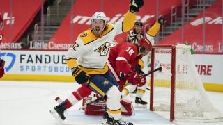 Predators Red Wings Hockey