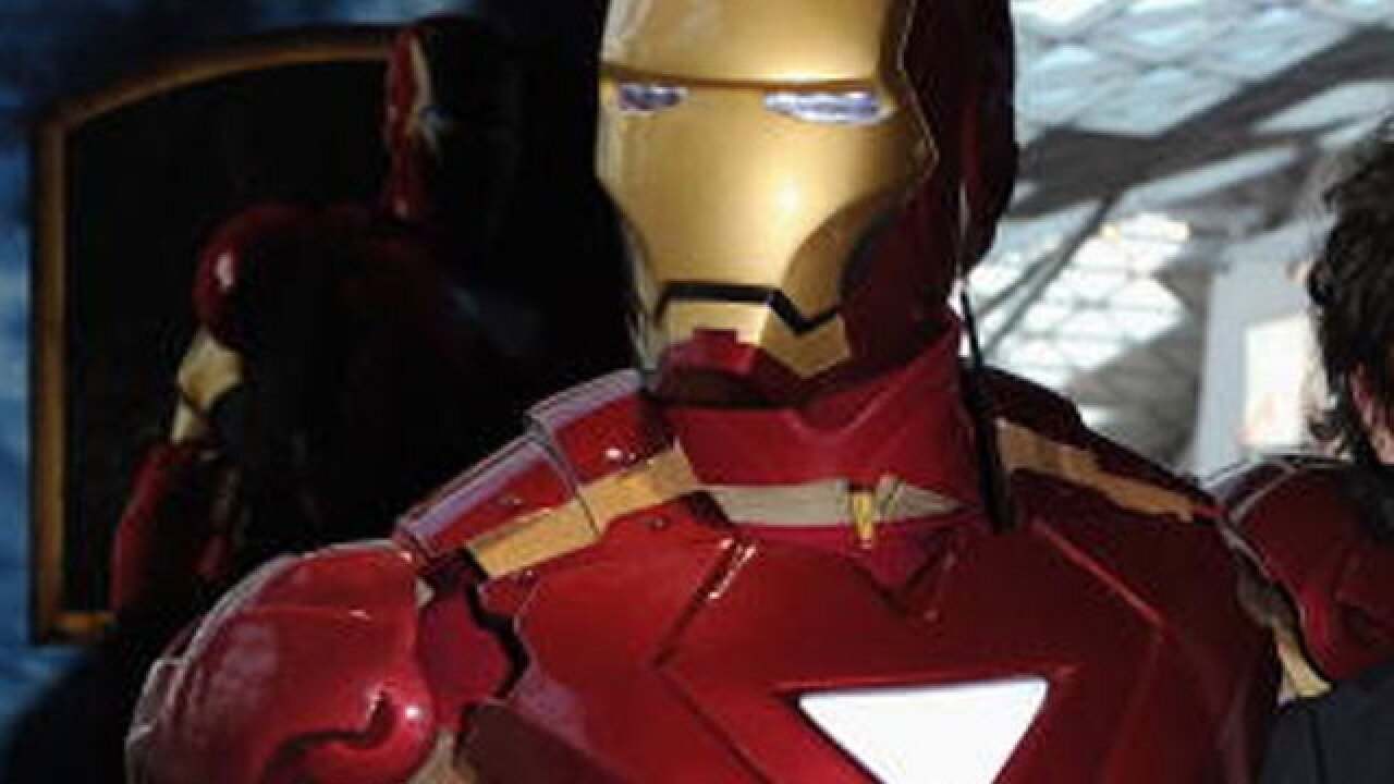 'Iron Man' suit worth more than $300K missing