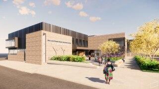 St. Vincent de Paul new outreach center rendering