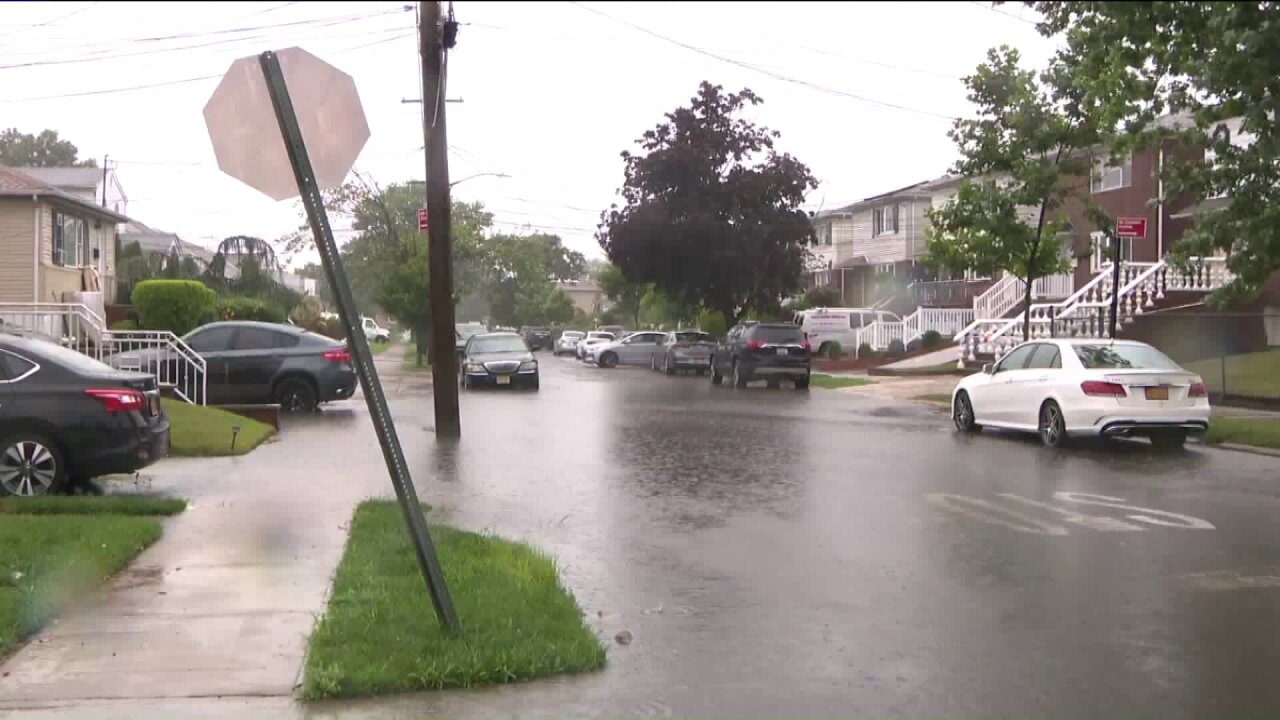 Tropical Storm Fay hits Queens, New York