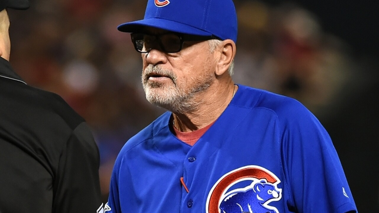 Chicago Cubs win 2-1 in Joe Maddon's return to Tropicana Field