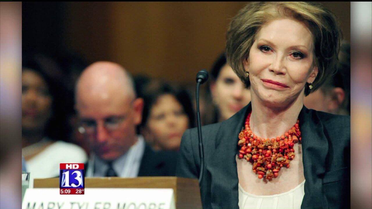 Utahns remember Mary Tyler Moore for her advocacy on behalf of Type 1diabetics