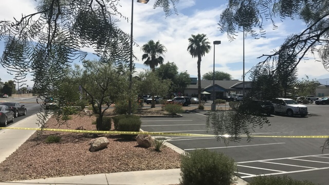 Vegas police involved in shooting Friday
