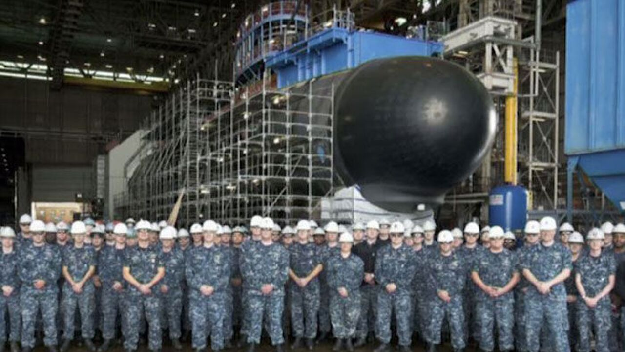 Navy Adds Fast Attack Sub South Dakota