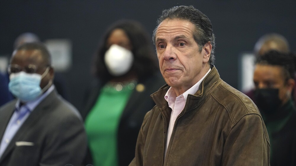 Cuomo Sexual Harassment Glance