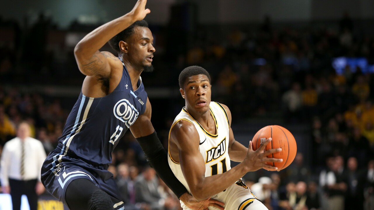 ODU men's hoops falls to VCU, 69-57