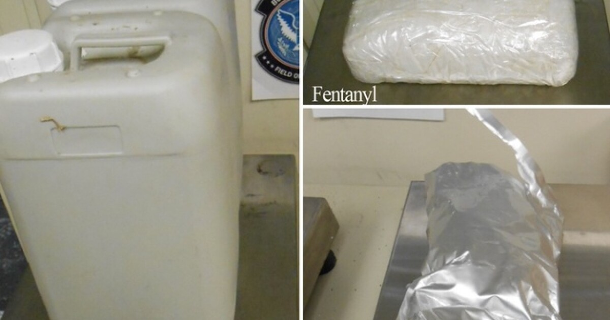 Cincinnati customs officers seize fentanyl, bath salts