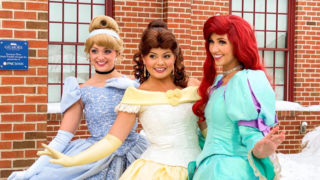 Cinderella, Beauty Princess, Mermaid Princess Outside-min.jpg