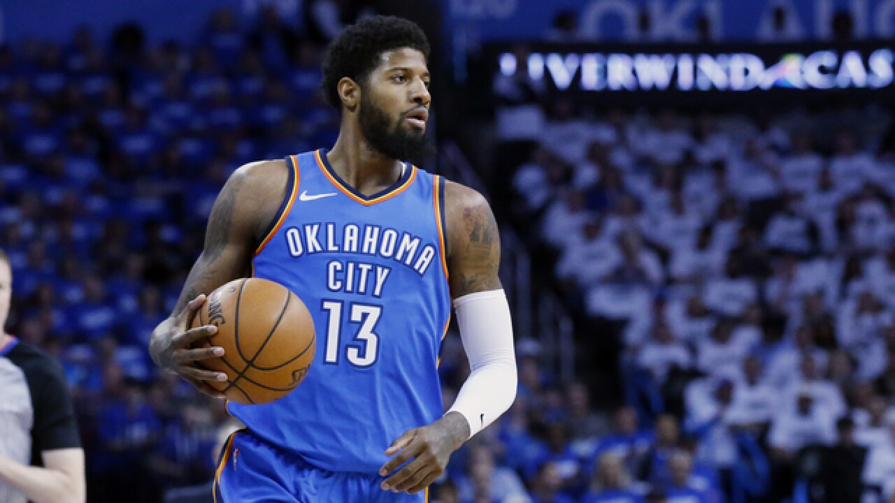 ESPN report: Paul George 'gone' from Oklahoma City