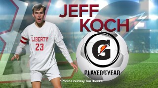Liberty's Jeff Koch named Gatorade Colorado boys soccer player of the year