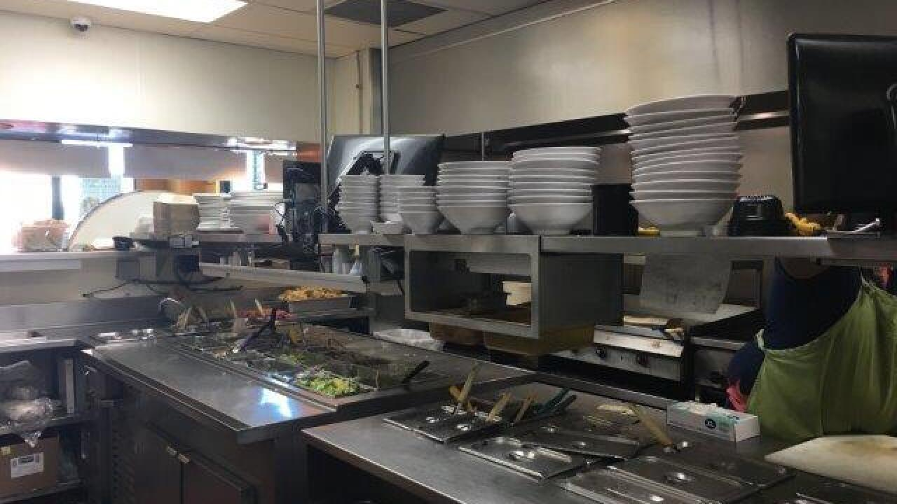 Roaches at repeat offender on Dirty Dining