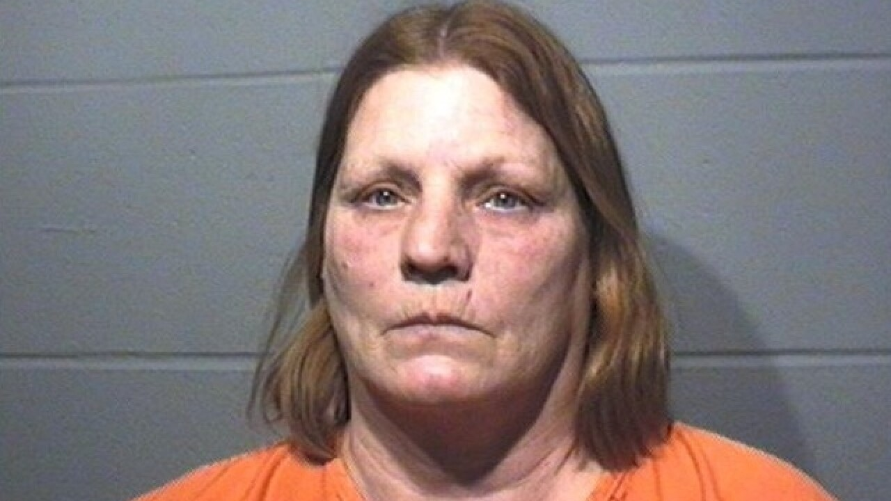 Woman accused of abusing, ditching dog arrested
