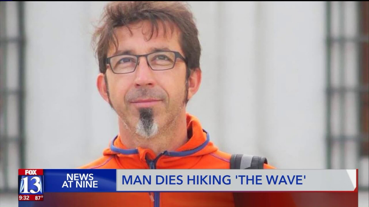 Hiker dies of suspected heat exposure in 'The Wave' area of Kane County