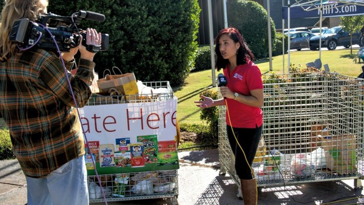 PHOTOS: 2016 Food 2 Families food drive