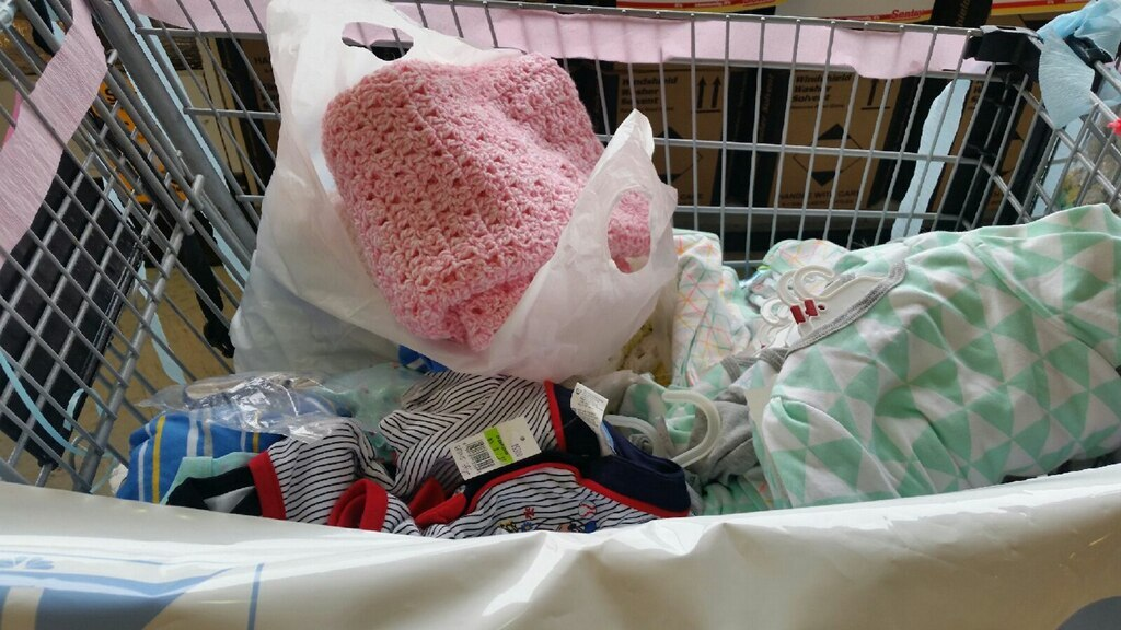 Donations given to TODAY'S TMJ4's Community Baby Shower