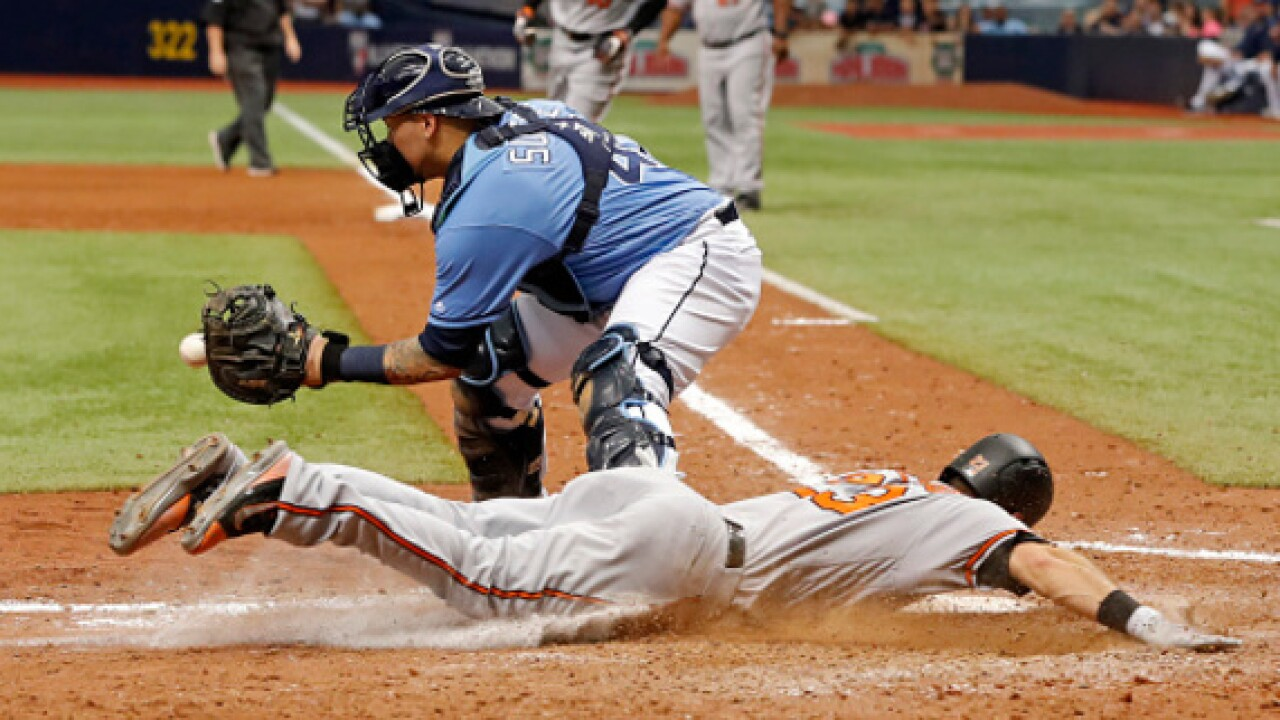 O's head into day off with win against the Rays