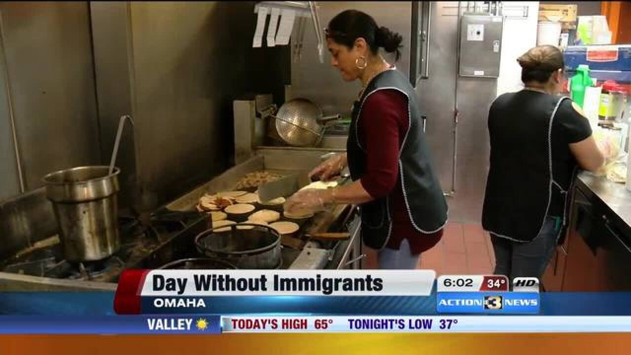 Businesses join 'Day Without Immigrants' strike
