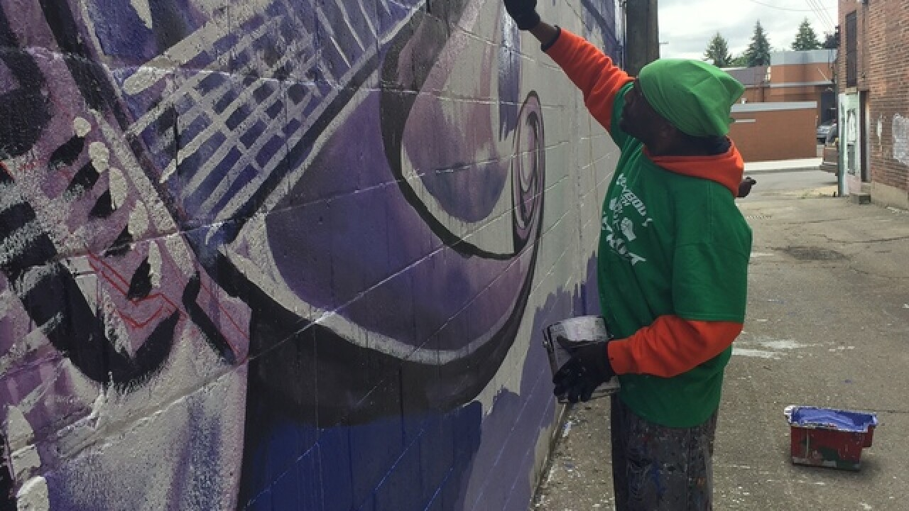 Prince tribute mural part of new public space