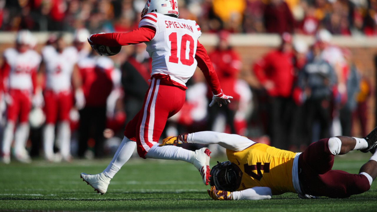 Nebraska football's JD Spielman named Freshman All-American