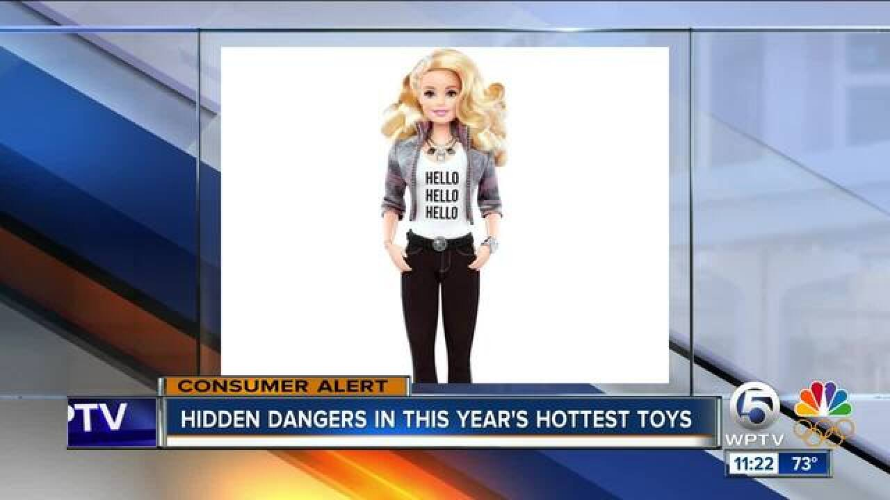 Hidden dangers in this year's hottest toys