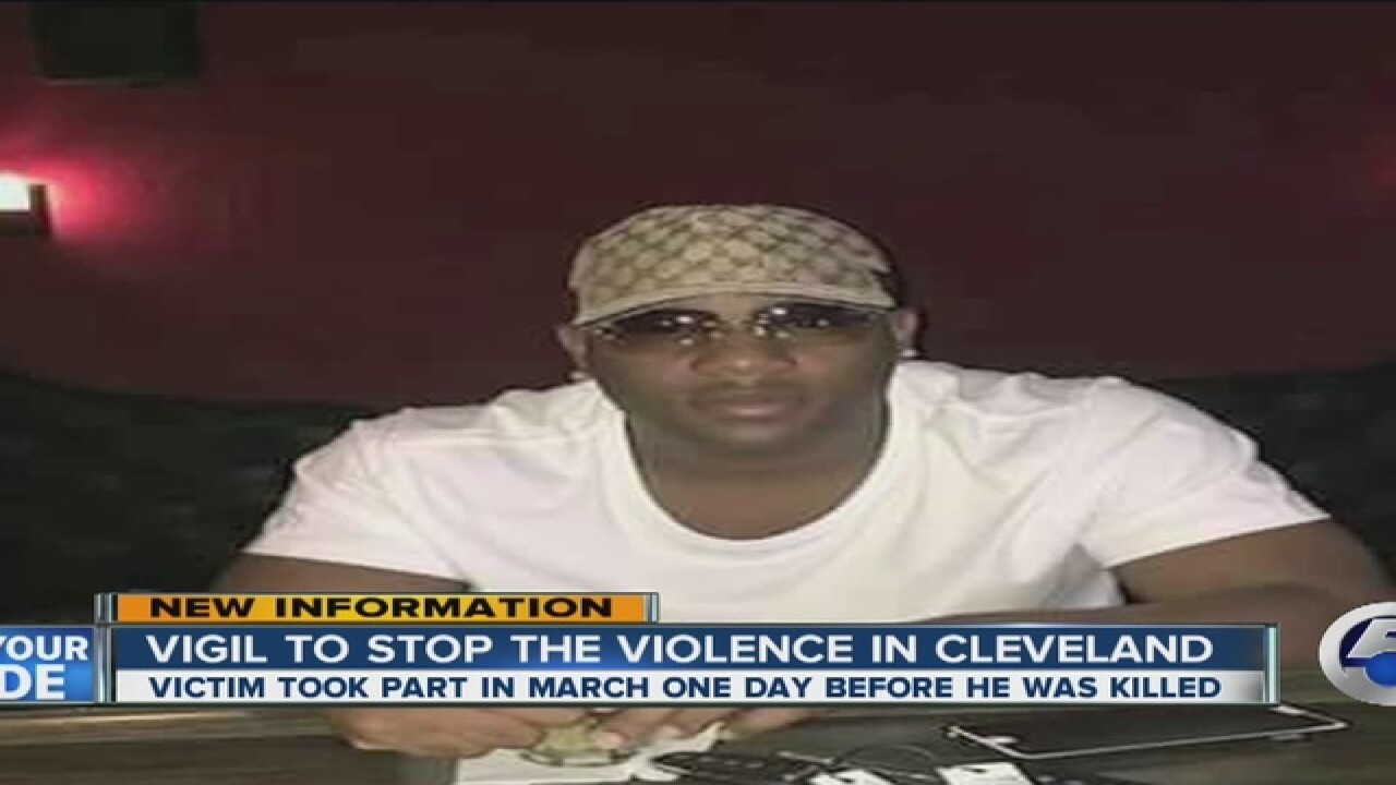 Shooting victim rallied against violence