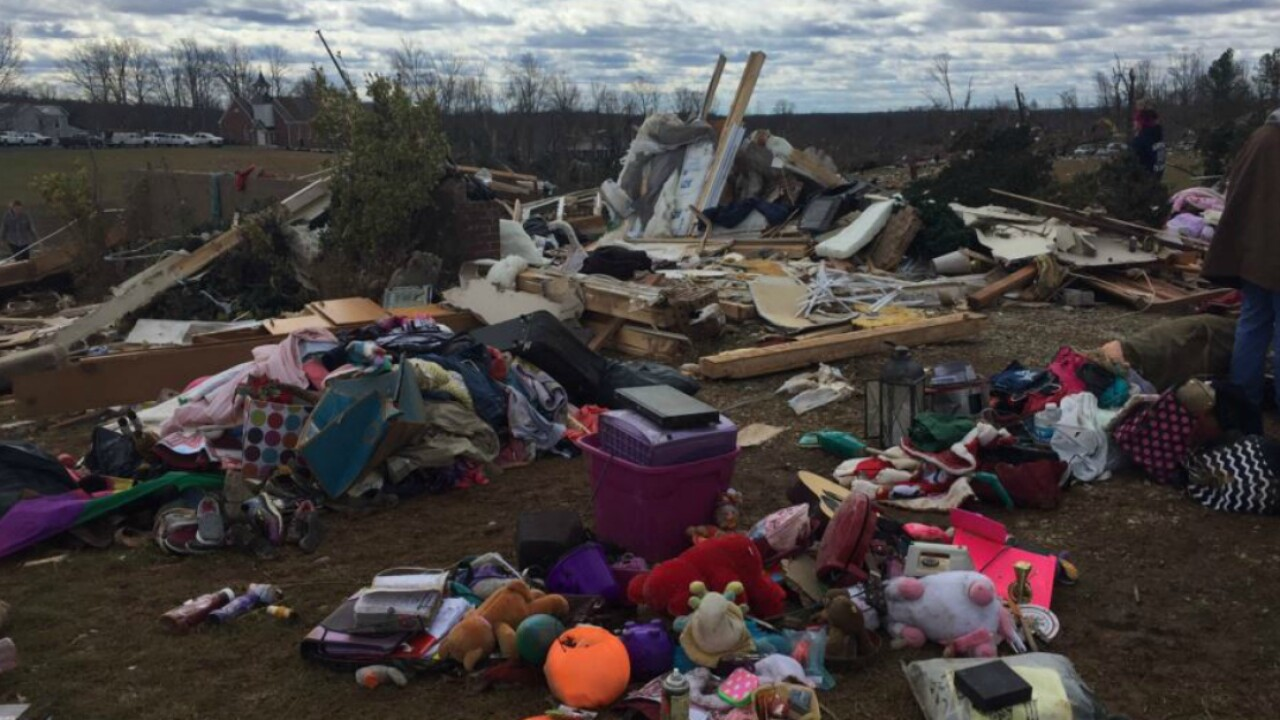Four people, ages 2 to 78, killed in odd Virginia tornado outbreak