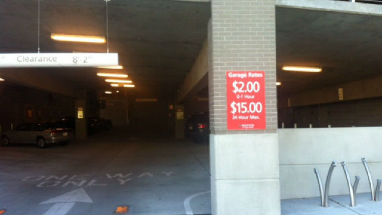Violation prompts change at Broad Ripple parking garage