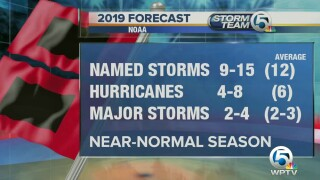 2019 Atlantic hurricane season should be 'near normal,' NOAA says