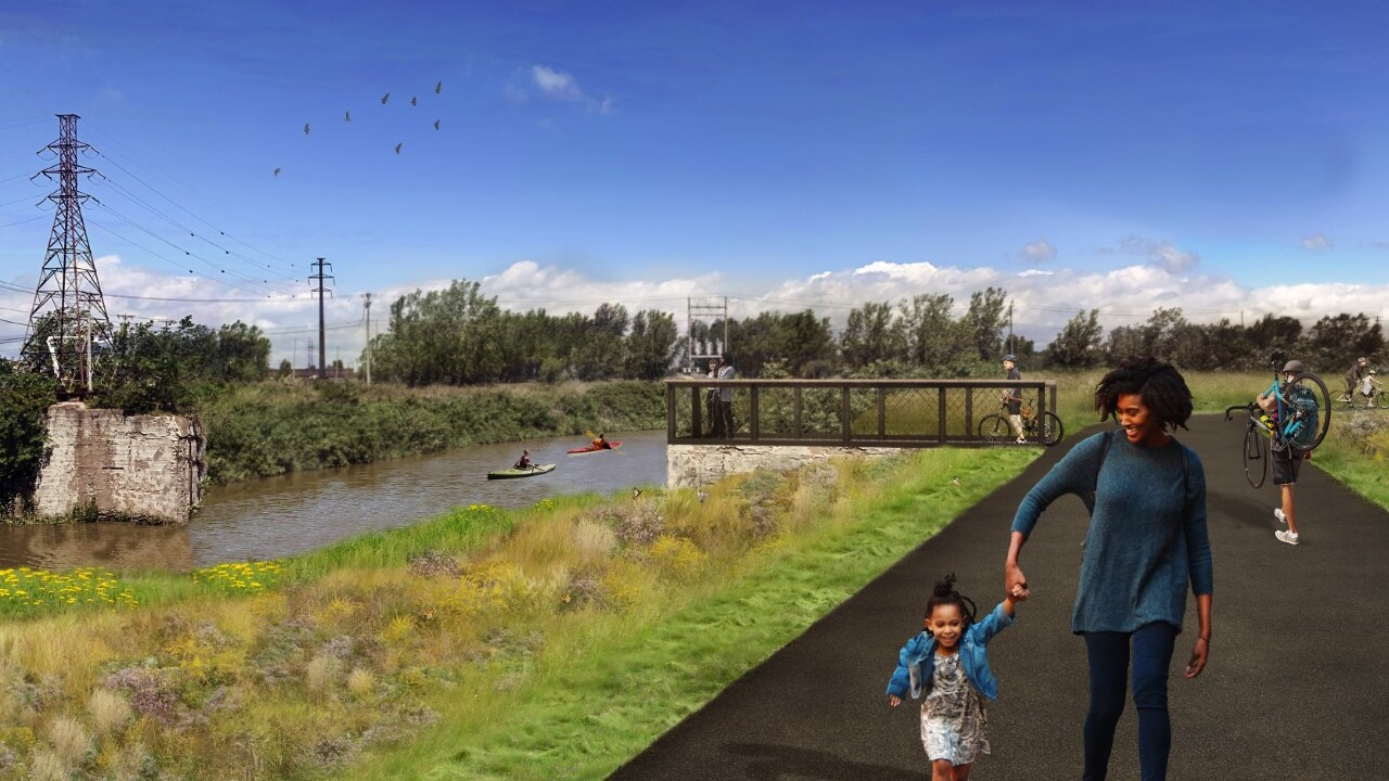 The Industrial Land Development Corporation is asking for public comment on its plans to extend the Shoreline Trail Bike Path.