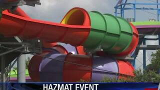 60 people treated after chemical leak in Houston-area water park