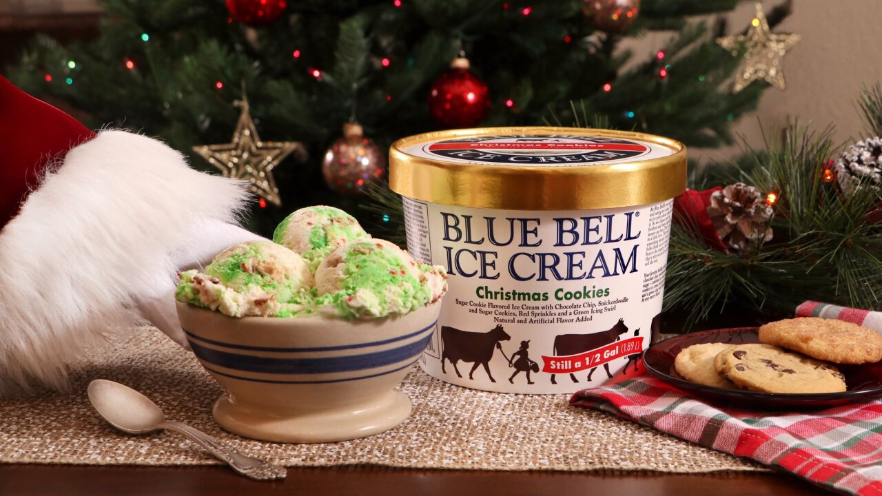 Blue Bell releases Christmas Cookies flavor for the holidays