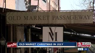 christmas in july old market