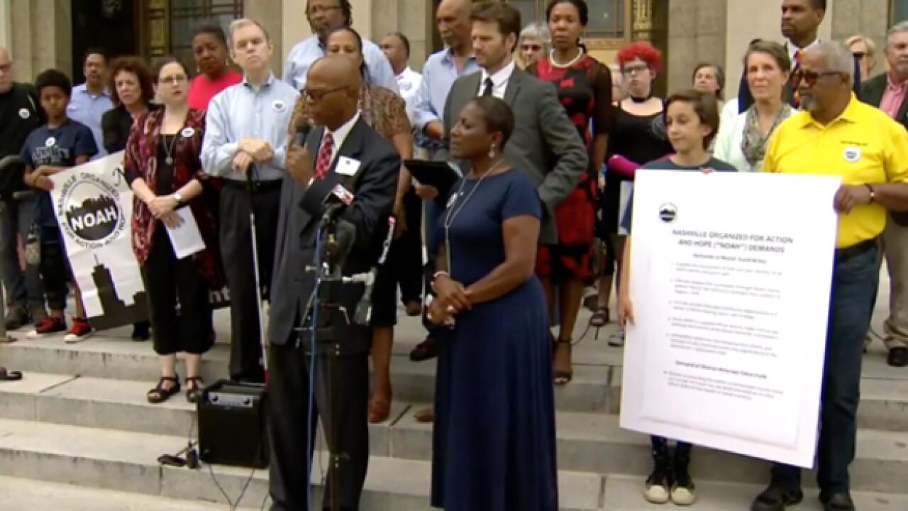 NOAH Demands Termination of MNPD Chief Steve Anderson