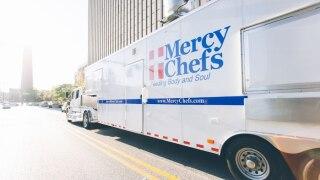 Portsmouth-based organization serves meals during Super Bowlweek
