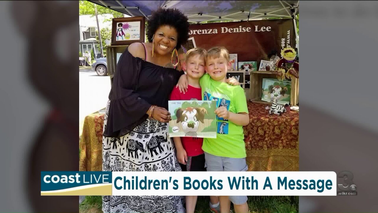 Children's Book Author Florenza Denise helps tackle tough subjects on CoastLive