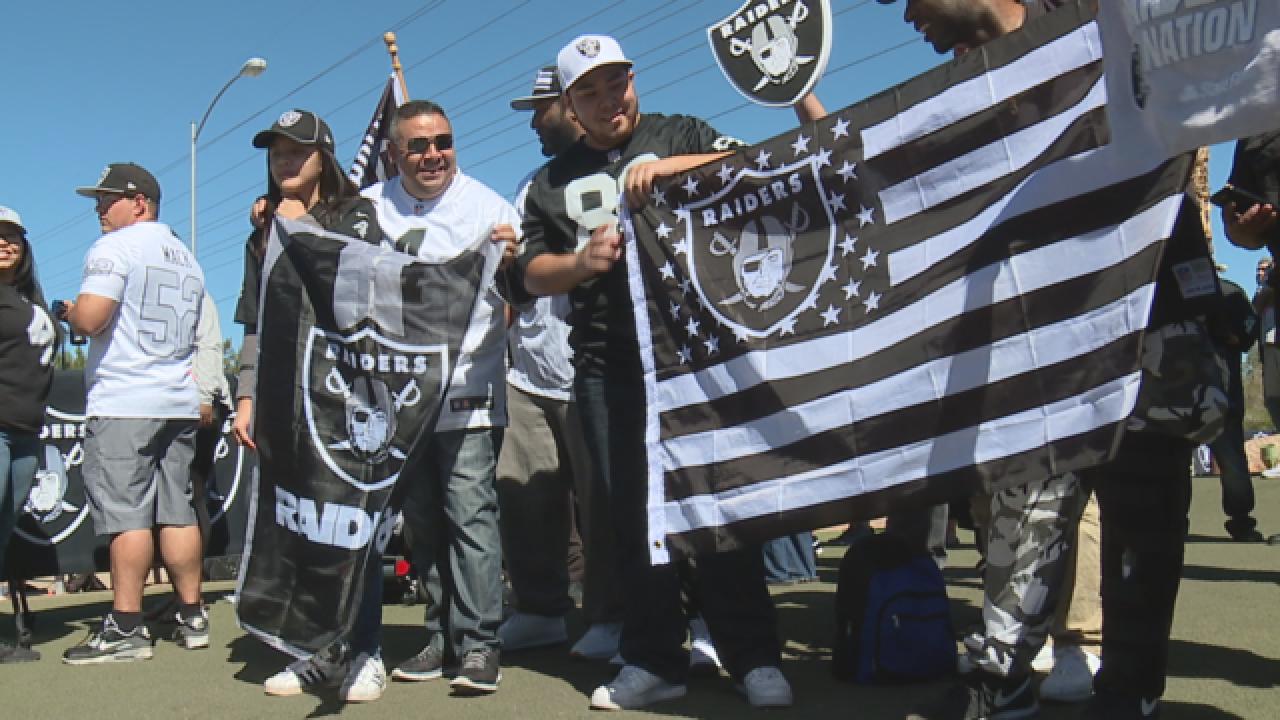 Raiders announce draft picks for the 2017 season