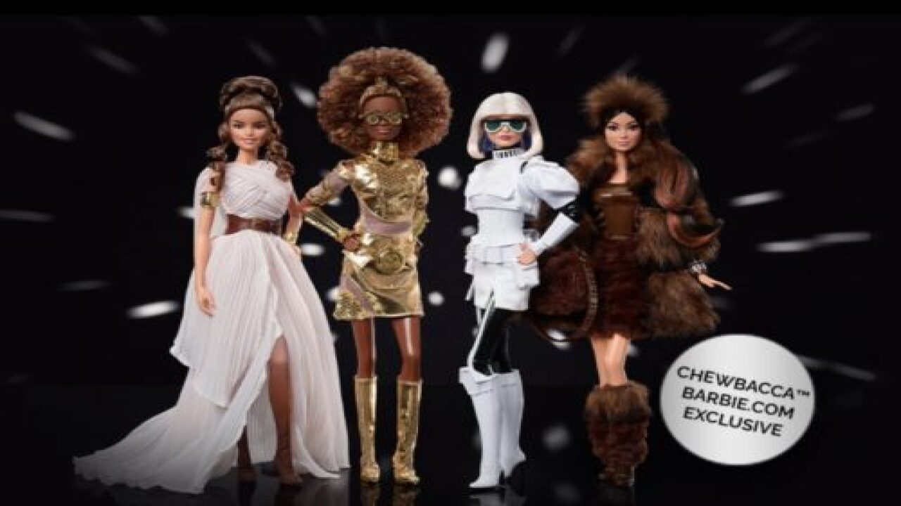 Mattel Releases New 'Star Wars' Collector Barbies