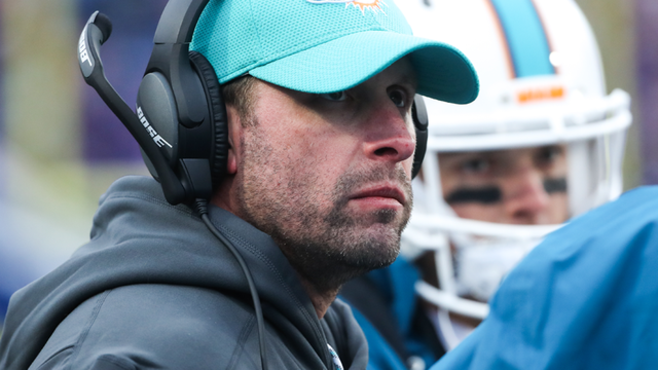 Adam Gase says he's comfortable with Miami's backup QB situation