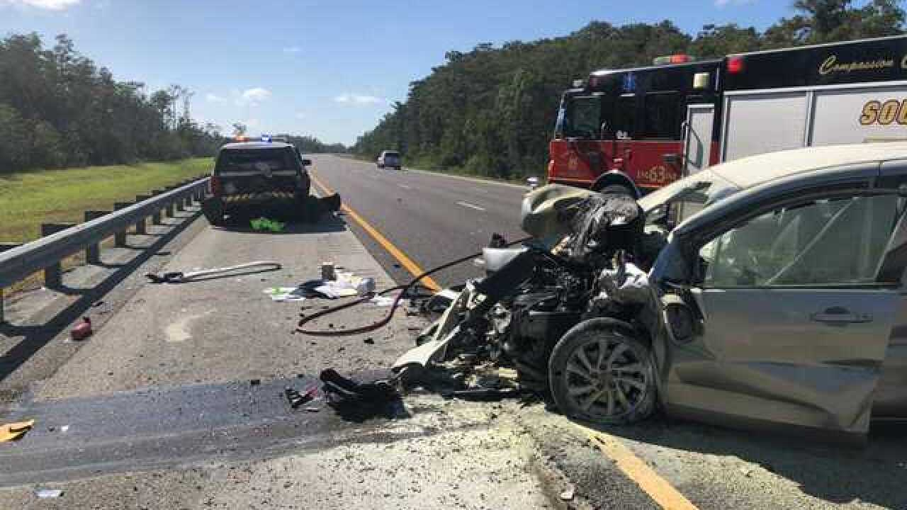 Trooper injured when vehicle is rear-ended