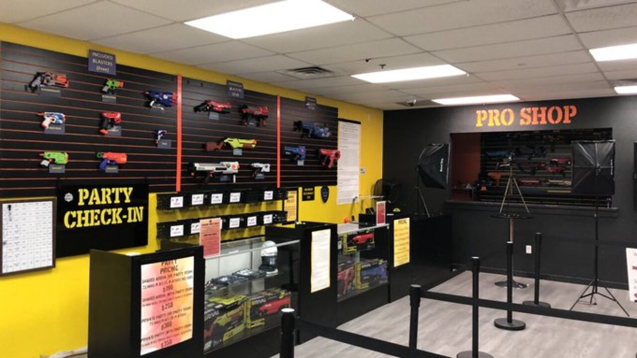 Dart Wars Colorado Springs business owner works to help local foster care kids