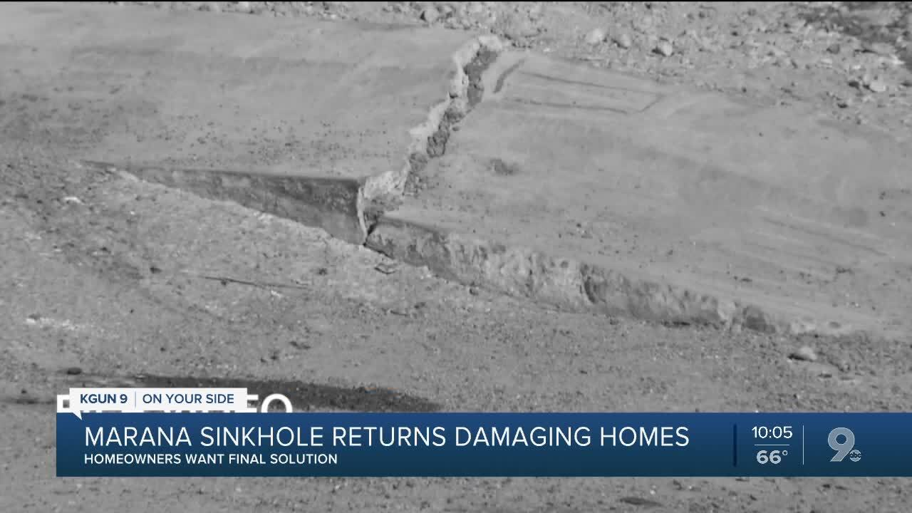 Richmond American Homes built on old gravel pit are sinking