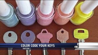Fast Fix: Color coding yourkeys