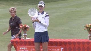 Nelly Korda wins Meijer LPGA Classic