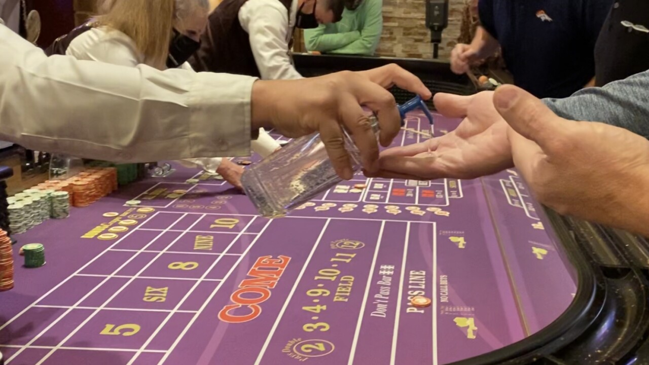 Table games open again in casinos as Gilpin County moves into 'Protect Our Neighbors' phase