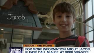 Grant Me Hope: Jacob enjoys board games, fishing, and telling jokes