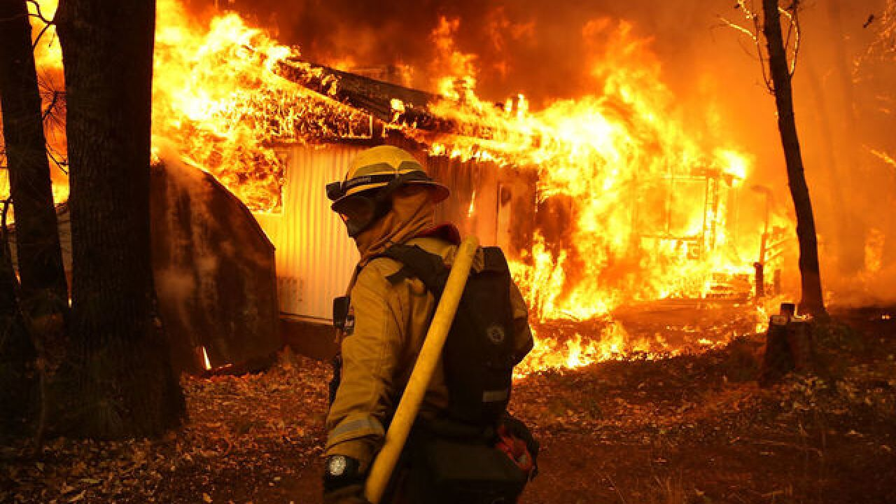 Camp Fire: Blaze levels a California town in less than a day
