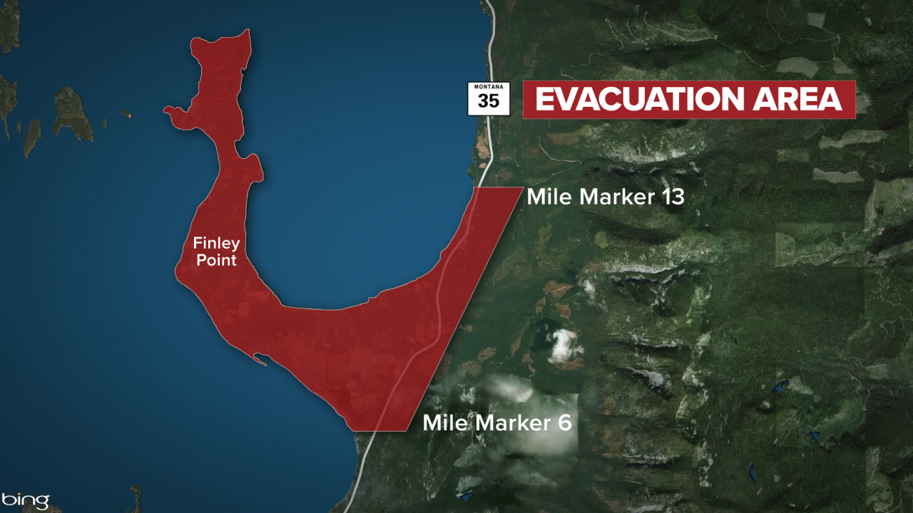 Boulder Fire Evacuations Map